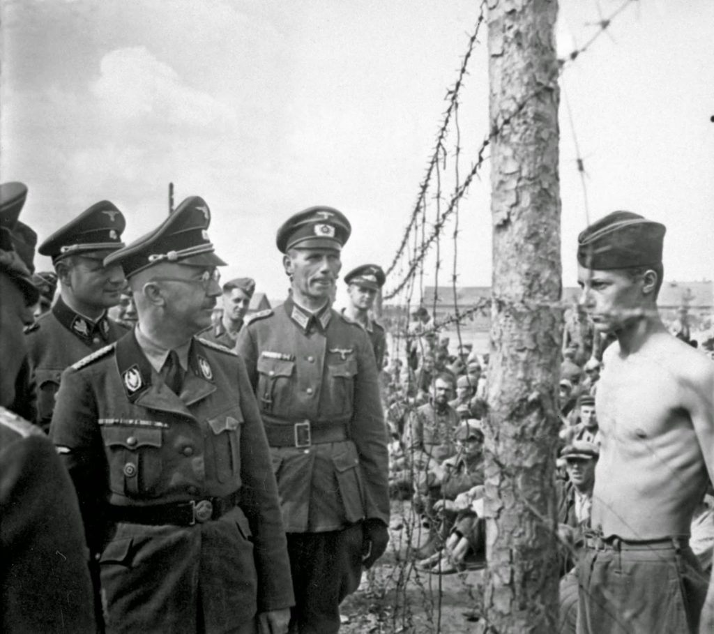 heinrich himmler and pow