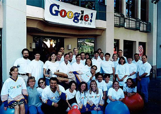 the beginning of google