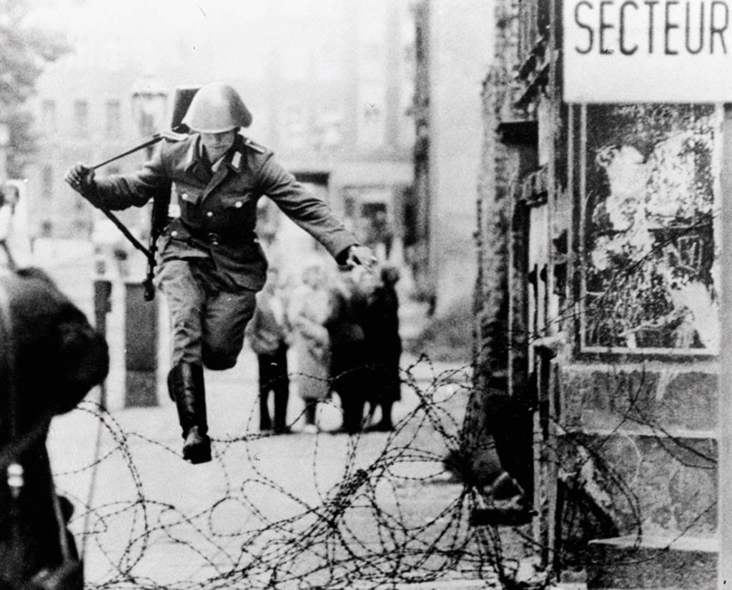 jumping the berlin wall